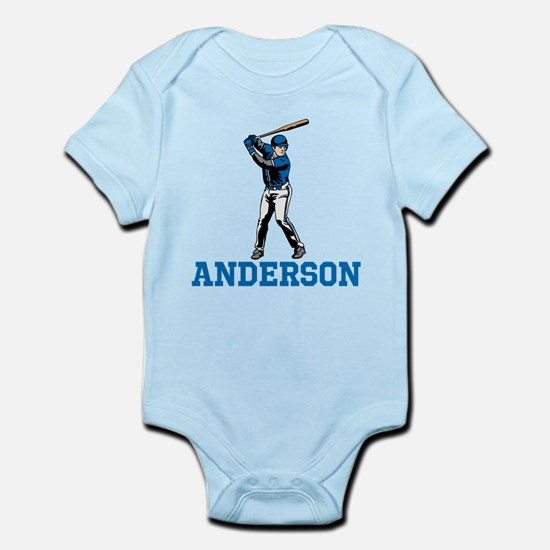 Personalized Baseball Infant Bodysuit