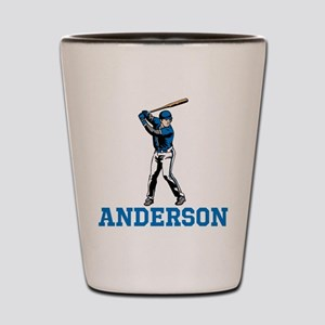 Personalized Baseball Shot Glass