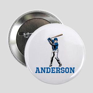 """Personalized Baseball 2.25"""" Button"""