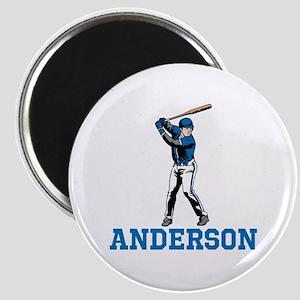 Personalized Baseball Magnet