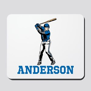 Personalized Baseball Mousepad