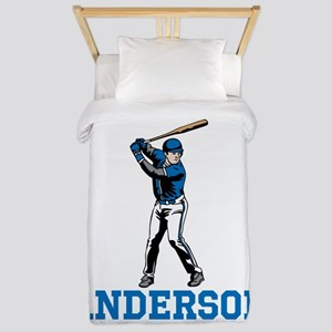 Personalized Baseball Twin Duvet