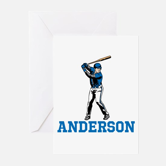 Personalized Baseball Greeting Cards (Pk of 10)
