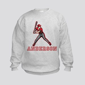 Personalized Baseball Kids Sweatshirt
