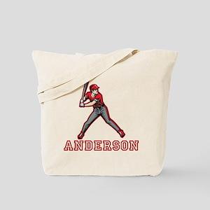Personalized Baseball Tote Bag