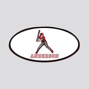 Personalized Baseball Patches