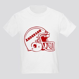 Personalized Football Kids Light T-Shirt