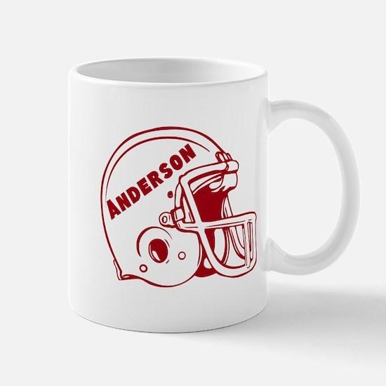 Personalized Football Mug