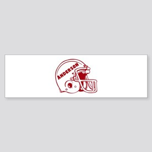 Personalized Football Sticker (Bumper)