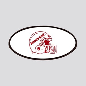 Personalized Football Patches
