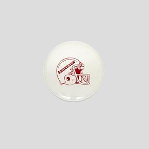 Personalized Football Mini Button