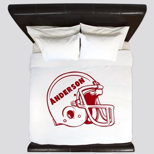 Personalized Football King Duvet