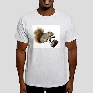Squirrel Rotary Phone Light T-Shirt