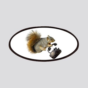 Squirrel Rotary Phone Patches