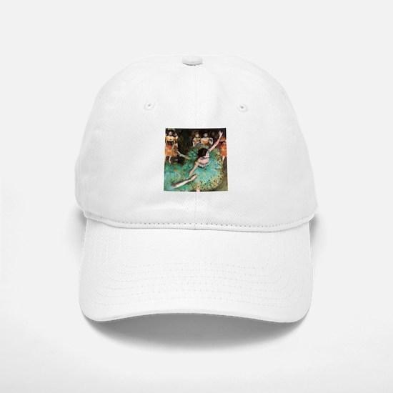 Edgar Degas The Green Dancer Baseball Baseball Cap