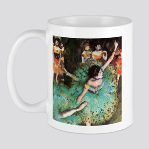 Edgar Degas The Green Dancer Mug