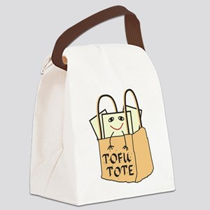 Funny Tofu Tote Canvas Lunch Bag
