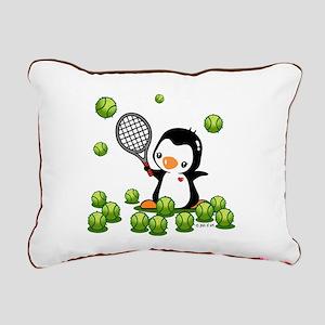 Tennis (22) Rectangular Canvas Pillow