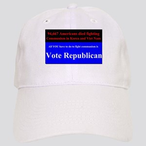 Fight Communism - Vote Republican Cap