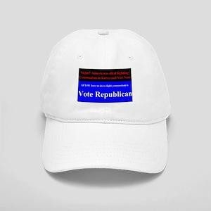 Fight Communism - Vote Republican Cap