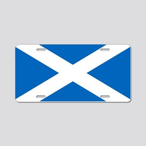 Scottish Flag Aluminum License Plate
