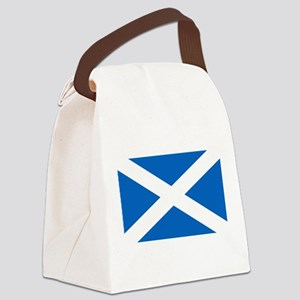 Scottish Flag Canvas Lunch Bag