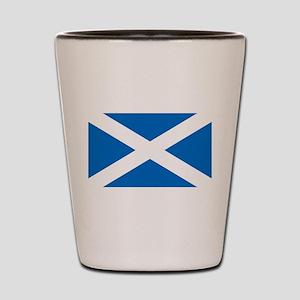 Scottish Flag Shot Glass