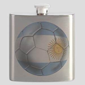 Argentina Football Flask