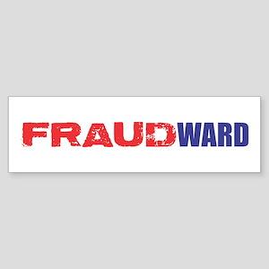 FRAUDWARD Sticker (Bumper)