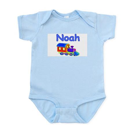 Train Engine Noah Infant Creeper