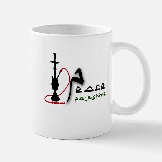 Peace in Palestine (Hookah) Mug
