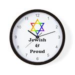 Jewish & Proud Wall Clock