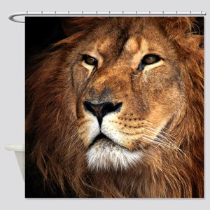 Lion Shower Curtain