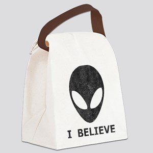 Vintage Alien (I Believe) Canvas Lunch Bag