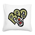 Ghost Square Canvas Pillow