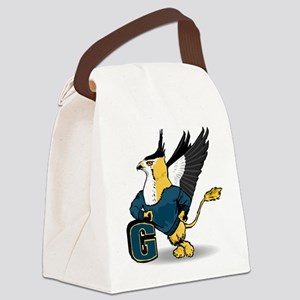 G For Griffin Canvas Lunch Bag
