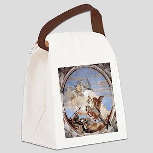 Bellerophon on Pegasus Canvas Lunch Bag