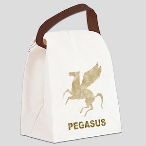 Vintage Pegasus Canvas Lunch Bag
