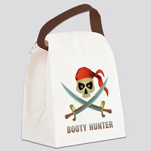 Booty Hunter Canvas Lunch Bag