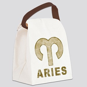 Vintage Aries Canvas Lunch Bag