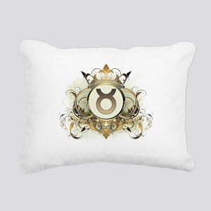 Stylish Taurus Rectangular Canvas Pillow