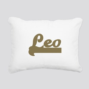 Retro Leo Rectangular Canvas Pillow