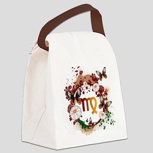 Psychedelic Virgo Canvas Lunch Bag