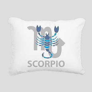 Scorpio Rectangular Canvas Pillow