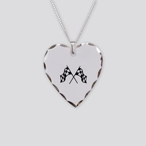 Finish Necklace Heart Charm