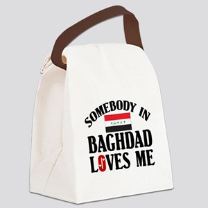 Somebody In Baghdad Canvas Lunch Bag