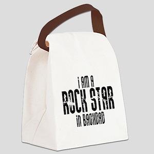 Rock Star In Baghdad Canvas Lunch Bag