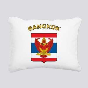 Bangkok Rectangular Canvas Pillow
