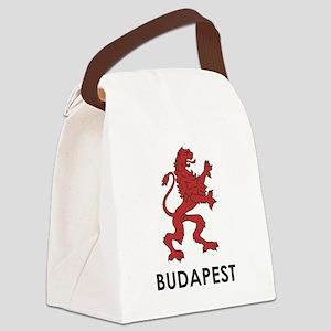 Budapest Lion Canvas Lunch Bag