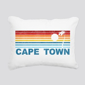 Palm Tree Cape Town Rectangular Canvas Pillow